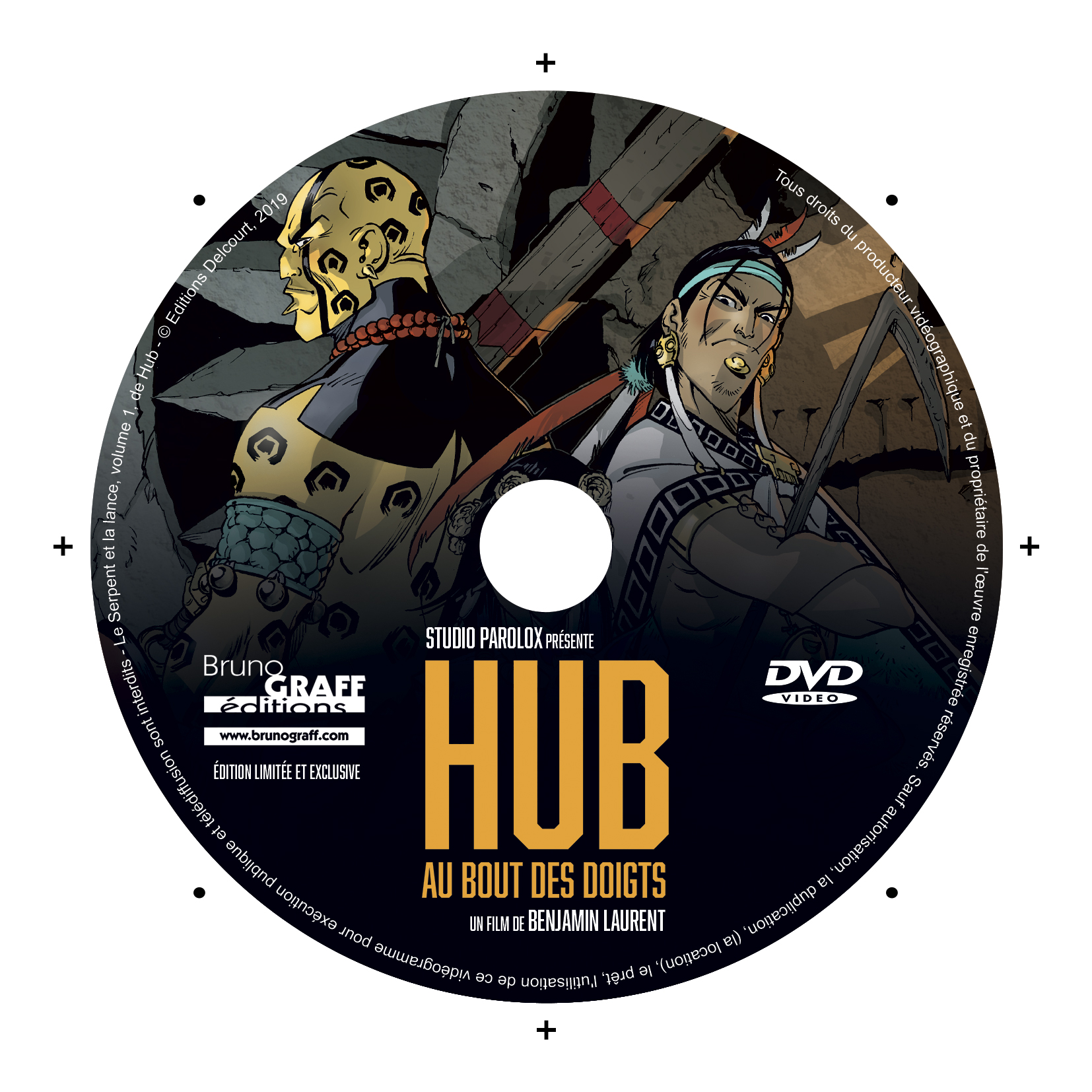 DVD HUB edition Bruno Graff