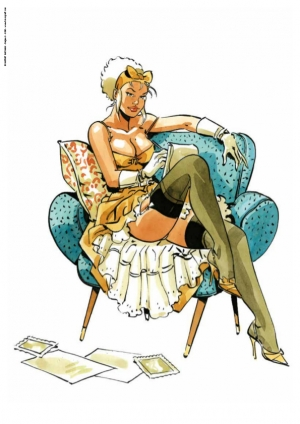 Pin-up Mirabelle Fauteuil 2020